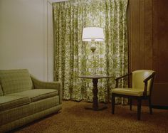 """Stephen Shore """"Room 110, Holiday Inn"""" 1973. there is something about 70's interiors that just does it for me."""