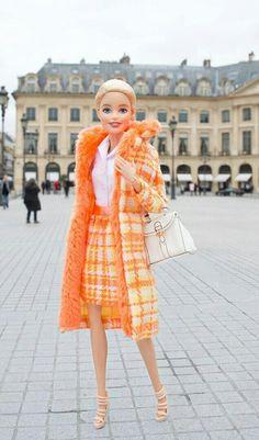 Barbie viajera.