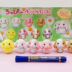 Roppi the rabbit daruma doll decoration