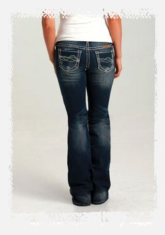 DFMI Cream | Cowgirl Tuff Co.  Dark wash with light distressing, rips and thick cream stitching. $90  | Holiday 2012