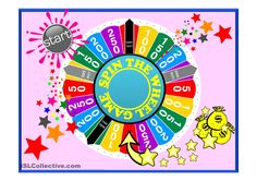 SPIN THE WHEEL - revision game