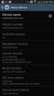 Android releases 4.3 update