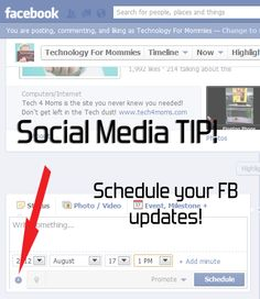 How to Schedule Facebook Page Updates