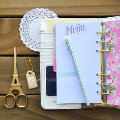 Personal Planner Kit • Natural Color Crush Webster's Pages • FREE WASHI TAPE