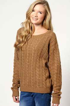 I want that sweater!!