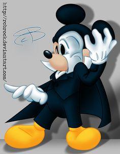 Mickey of the Opera by RCBrock.deviantart.com on @deviantART