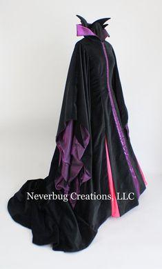 Items similar to Maleficent Costume (Animated Version) on Etsy Maleficent Costume Kids, Disney Villain Costumes, Movie Halloween Costumes, Halloween Dress, Diy Costumes, Disney Villains, Costume Ideas, Adult Halloween, Halloween 2019
