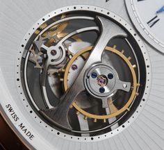 "Arnold & Son UTTE ""Ultra-Thin Tourbillon"" Watch Review Wrist Time Reviews"