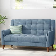 Chic Ulises Loveseat by George Oliver Sofas Home Decor Furniture from top store Furniture Styles, Home Decor Furniture, Living Room Furniture, Furniture Ideas, Sofa Bed Sleeper, 2 Seater Sofa, Soft Seating, Sofa Home, Club Chairs