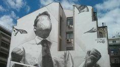 Street art in Athene: 'juist hier moeten de frustratie en de ellende eruit' | NOS