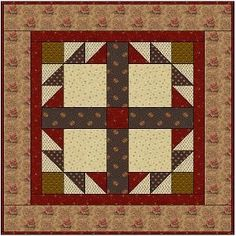 Country Lane Quilts - Doves In The Window Free Pattern - she has other free patterns for small quilts..