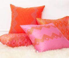Coussins pillows cushions