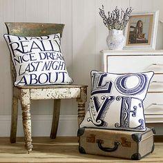 Buy Emma Bridgewater Love Cushion Online at johnlewis.com