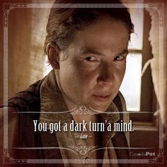 You got a dark turn'a mind. Deadwood Tv Show, Internet Television, Grilling Gifts, Boardwalk Empire, Best Dramas, Summer Barbecue, Tv Show Quotes, Television Program