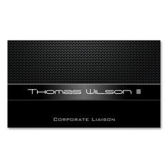Professional Carbon Fiber Car Business Cards. Make your own business card with this great design. All you need is to add your info to this template. Click the image to try it out!