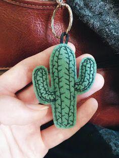 MINI cactus succulent interior plant green keychain felt embroid illustration/graphic design urban jungle sun garden tropical hand-made Mini Cactus, Cactus Flower, Flower Bookey, Flower Film, Flower Pots, Cute Crafts, Felt Crafts, Cactus Keychain, Sewing Crafts