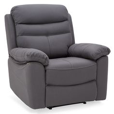 Plywood Furniture, New Furniture, Ottoman, Grey Armchair, Leather Reclining Sofa, Sit Back And Relax, Lounge, Recliner, Cushions