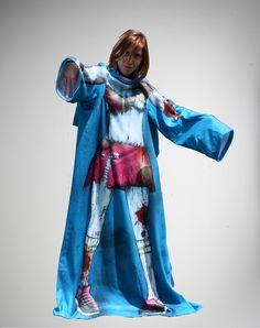 Zombie Girl Fleece with Sleeves $19.99