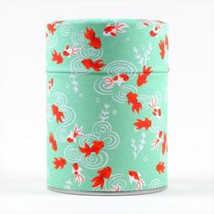 Boîte à thé Sakana verte