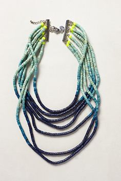 Ombre Beaded Necklace