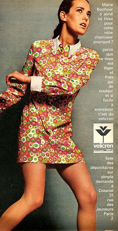 Top Fashion Advice To Help You Look Your Best – Fashion Trends 60s And 70s Fashion, Mod Fashion, Fashion Show, Vintage Fashion, Fashion Trends, Gothic Fashion, Dress Fashion, Op Art, 1970 Style