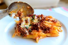 The Pioneer Woman's Baked Ziti. Made this for dinner tonight and it was scrumptious!!