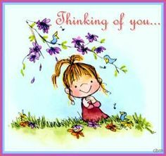i hope you re having a great day i love 50 million bunches have rh pinterest com thinking of you clipart black and white just thinking of you clipart