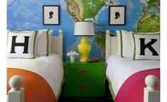 6th Street Design School   Kirsten Krason Interiors : Boy & Girl Room