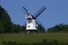 famous #windmill in #Turville, as seen in #Chitty Chitty Bang Bang