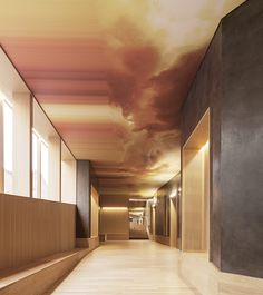 Image 11 of 17 from gallery of The Music Conservatory of Versailles Grand Parc / Joly&Loiret. Photograph by Schnepp Renou Versailles, Office Wall Design, Office Walls, Ceiling Detail, Ceiling Design, Commercial Design, Commercial Interiors, Architecture Details, Interior Architecture
