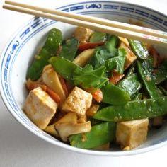 Tofu stir fry - no words necessary. Delicious!
