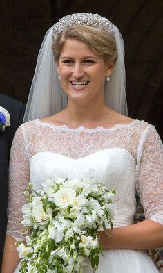Princess Diana's niece wears Spencer Tiara on her wedding day