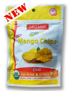 **NEW** Mango Chips - Chili  $4.49 per bag  (Only sold in 6 pk)