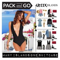 """PACK AND GO - MANY ISLANDS ONE SUITCASE"" by sohappytotravel on Polyvore featuring J Brand, Tom Ford, Stuart Weitzman, IPANEMA, Glamorous, BCBGMAXAZRIA, Reiss, Dorothy Perkins, Tkees and RVCA"