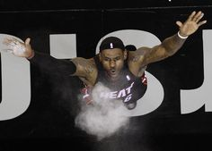 LeBron James celebrates his birthday on Sunday. Will SI& 2012 Sportsman of the Year bring another title to Miami in (AP) GALLERY: Rare Photos of LeBron James Xavier Basketball, I Love Basketball, Basketball Jones, King Lebron James, King James, Happy 28th Birthday, Fantasy Basketball, Basketball Uniforms, Nba Champions