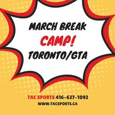 March Break & Summer Camps in Toronto & GTA from Toronto Athletic Camps! Code SNYMED gives extra $25 off!   CALL: 416-627-1092  INFO: http://www.snymed.com/2018/02/march-break-summer-camps-at-tac-sports.html   #Toronto #Thornhill #Markham #Stouffville #Scarborough #Vaughan #Woodbridge #RichmondHill #Mississauga #GTA #SpringBreak #MarchBreak