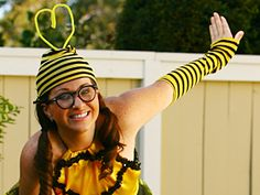 "if all else fails, i shall be ""bee girl"" from the Blind Melon video. yup."