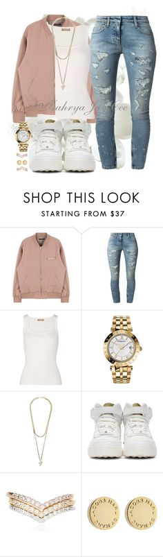"""""""Love Yoself"""" by sphereoflightmovement ❤ liked on Polyvore featuring Faith Connexion, Michael Kors, Versace, Givenchy, Valentino, Accessorize and Marc by Marc Jacobs"""
