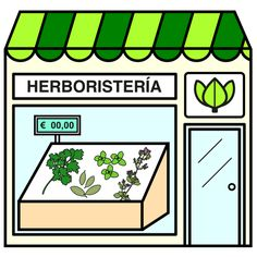 Pictogramas ARASAAC - Herboristería.