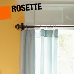 A rosette is a round, decorative bit of molding that is used in architecture. It can often be found at the corners of window molding and door molding.