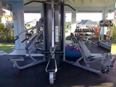 Fully Equipped Gym in an amazing setting less the 5 minutes walk away