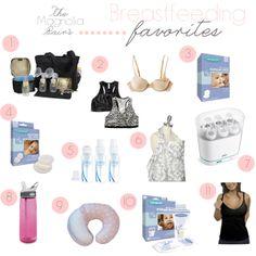The Magnolia Pair: Breastfeeding Favorites