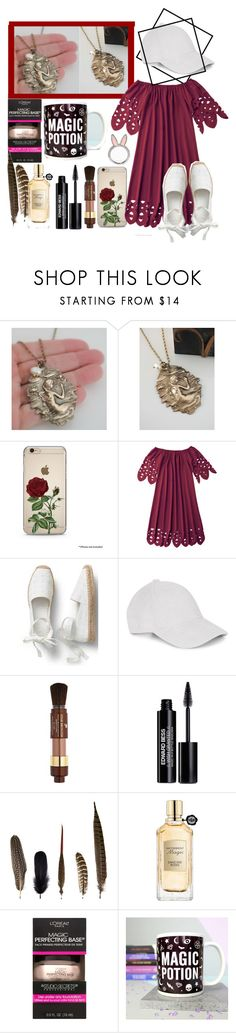 """""""Mermaid Pendant Necklace"""" by harrypotterlover12 ❤ liked on Polyvore featuring Le Amonie, Lancôme, Edward Bess, Mineheart, Viktor & Rolf, L'Oréal Paris and Kate Spade"""