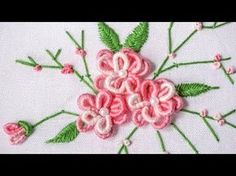 Hand Embroidery for Beginners - Part 2 | 10 Basic Stitches | HandiWorks #52 - YouTube