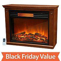 Mobile - LifeSmart Lifepro Large Room Infrared Heater Fireplace. $159
