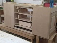Bookcase With Hidden Drawer - All