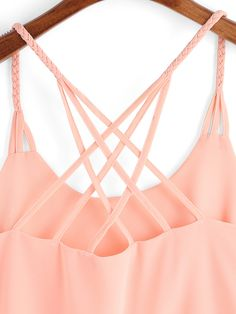 Shop Pink Spaghetti Strap Loose Cami Top online. SheIn offers Pink Spaghetti Strap Loose Cami Top & more to fit your fashionable needs.