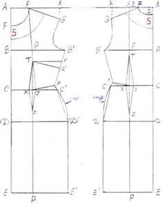 Cartamodelli di tubini - Cartamodello tubino classico