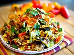 Nacho average breakfast dish...Definitely spice things up with this one.