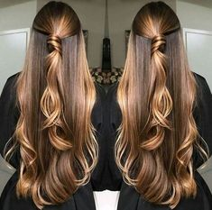 10 hair color ideas for Fall hair color ideas to copy this fall, they are super cute and you will look gorgeous with a new look. Choosing a new hair color for fall is Unique Hairstyles, Pretty Hairstyles, Brown Hairstyles, Brown Blonde Hair, Brown Hair Colors, Fall Hair, Balayage Hair, Gorgeous Hair, Hair Looks